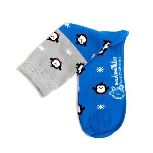 sosete pinguin iarna barbati femei