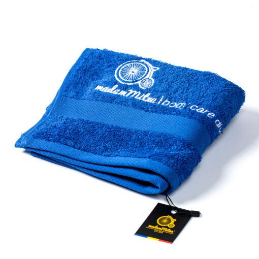 prosop baie oaspeti albastru royal